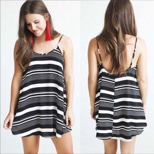 Show Me Your MuMu Bella Black and White Dress